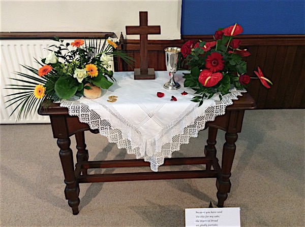 flower festival - communion